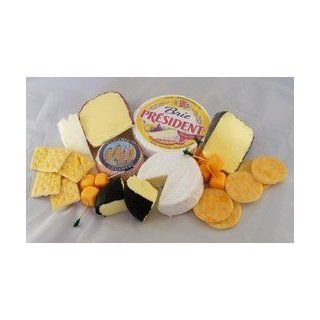 Realistic Fake Large Grouping of Cheese & Crackers, Set of 23   Double Frames