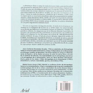 Alimentacion Y Cultura (Ariel Antropologia) (Spanish Edition) (9788434422230): Jesus Contreras Hernandez, Mabel Gracias Hernaiz: Books
