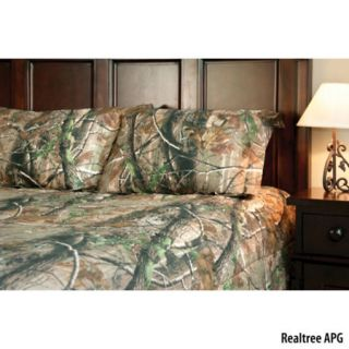 Birchwood Trading Realtree APG Camo Full Comforter Set 754355