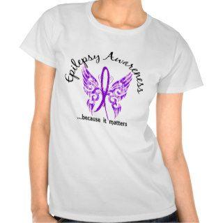 Grunge Tattoo Butterfly 6.1 Epilepsy Tee Shirt