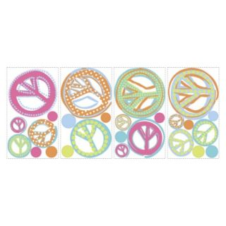 Roommates Peace Signs Wall Decals