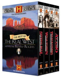 Best of the Real West (4 VHS Tapes) in slipcase: Hosted By Kenny Rogers: Movies & TV