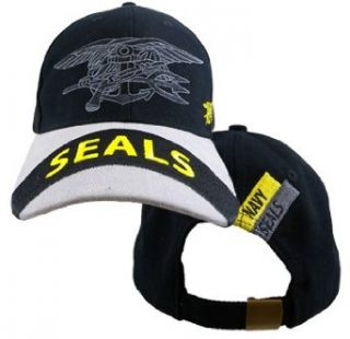 """US Navy """"SEALS"""" Team Logo Embroidered Hat   Adjustable Buckle Closure Cap Clothing"""