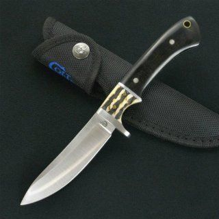 Colt Knives 356 Skinner Fixed Blade Knife with Wood and Bone Handles  Hunting Fixed Blade Knives  Sports & Outdoors