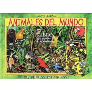 Animales Del Mundo Libro Puzzle / Animals of the