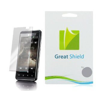 GreatShield Ultra Anti Glare (Matte) Clear Screen Protector Film for LG Thrill 4G / LG Optimus 3D (3 Pack): Cell Phones & Accessories