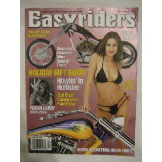 EASYRIDERS MAGAZINE   DECEMBER 2004   ISSUE # 378: EASYRIDERS MAGAZINE: Books