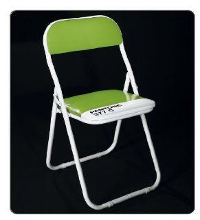 Folding Chair Set of Four Metal Indoor Dining Fold Chairs with Padded Seat and Back Green   Pantone Folding Chair