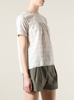 Band Of Outsiders Embroidered Pattern Blouse   Dolci Trame