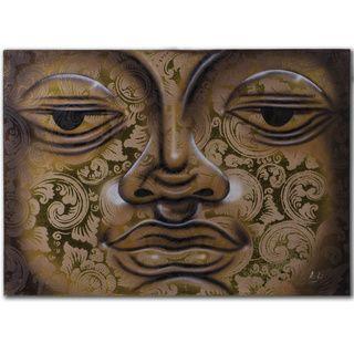 Water Technique Buddha Painting (Indonesia) Original Art