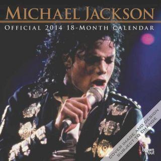 Michael Jackson 2014 18 Month Calendar