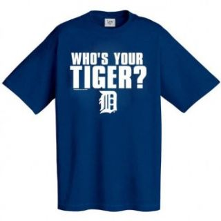 Detroit Tigers ''Who's Your Tiger?'' T Shirt  Sports & Outdoors