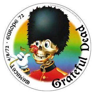 Grateful Dead Rock Music Band Sticker   Europe 1972 Tour   Wembley: Automotive