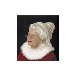 Mrs. Santa Claus Deluxe Wig Christmas Accessory Clothing