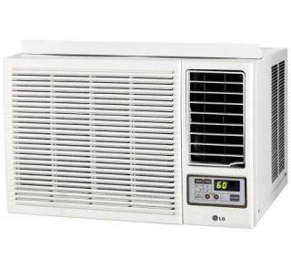LG Electronics 7,000 BTU Window AC w/ Heat andRemote —