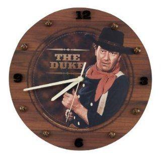 """JOHN WAYNE the DUKE 12"""" WALL CLOCK Western decor NEW"""