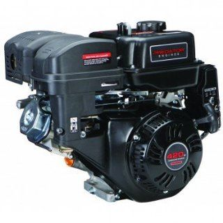 Predator 14 HP 420cc OHV Horizontal Shaft Gas Engine   Certified for California; Fuel Shut Off and Recoil Start: Automotive