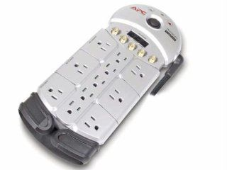 Apc Premium A/v Surge Protector with TEL2/SPLITTER, 1 Set Coax and 1 Set Coax Sp: Electronics