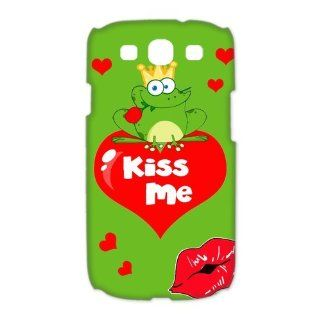 Custom The Frog 3D Cover Case for Samsung Galaxy S3 III i9300 LSM 3562: Cell Phones & Accessories
