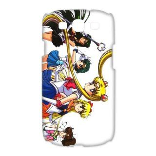 Custom Sailor Moon 3D Cover Case for Samsung Galaxy S3 III i9300 LSM 3066: Cell Phones & Accessories