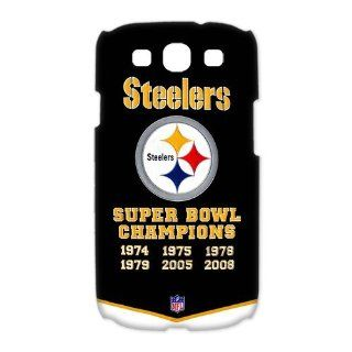 Custom Pittsburgh Steelers 3D Cover Case for Samsung Galaxy S3 III i9300 LSM 2907: Cell Phones & Accessories