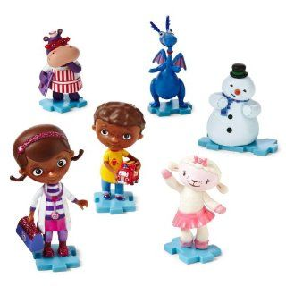 Disney Doc McStuffins Collectible 6 Piece Figurine Playset Juego de Estatuillas: Toys & Games