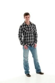 B. Tuff Western Denim Jeans Mens Kirk Distress Light Wash MJKIRK at  Men�s Clothing store: