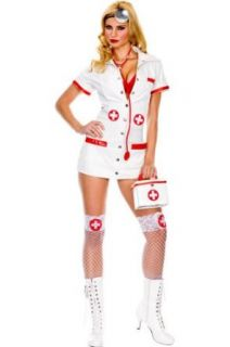Womens XLG  Sexy Doctor or Nurse Costume (No Purse) Clothing