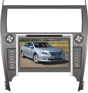 IN DASH OEM REPLACEMENT RADIO DVD Gps NAVIGATION HEADUNIT FOR TOYOTA CAMRY European American 2012  WITH REAR VIEW CAMERA  In Dash Vehicle Gps Units  GPS & Navigation