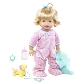 Little Mommy Real Loving Baby Walk & Giggle Doll Toys & Games
