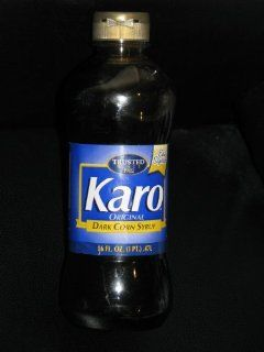 Karo Dark Corn Syrup, 16 fl. oz. : Butter Cookies : Grocery & Gourmet Food