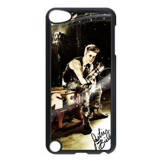 Cool Justin Bieber Hard Case Cover For Ipod Touch 5th New Style Cell Phones & Accessories