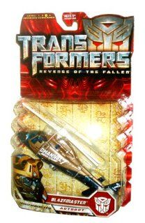 """Hasbro Transformers Movie Series 2 """"Revenge of the Fallen"""" Deluxe Class 6 Inch Tall Robot Action Figure   Autobot BLAZEMASTER with Spinning Combat Blade (Vehicle Mode: News Helicopter): Toys & Games"""