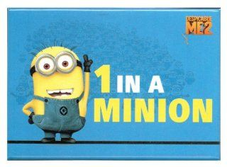 Despicable Me 2   1 In A Minion Magnet: Toys & Games