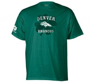 NFL Denver Broncos St. Patricks Day T Shirt —
