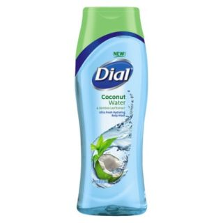 Dial® Coconut Water Body Wash   Clear Blue (