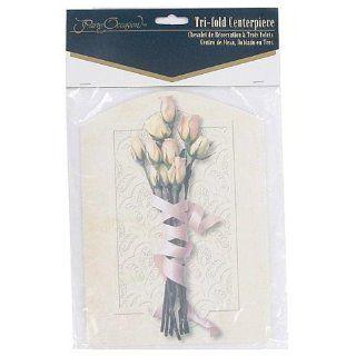 48 Floral bouquet tri folding centerpiece: Health & Personal Care