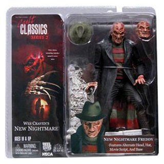 Freddy Krueger Action Figure from Wes Craven A New Nightmare Cult Classics Series 2: Toys & Games