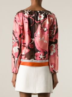Nina Ricci Loose Patterned Blouse   Liska