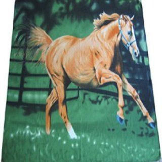 HORSE RUNNING 503 Fleece blanket 50x60