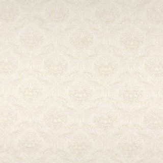 """A072 Beige And Off White Flowers And Leaves Upholstery Fabric By The Yard  54"""" Wide"""