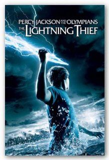 Percy Jackson & the Olympians: The Lightning Thief Movie (Holding Lightning) Poster   22x34