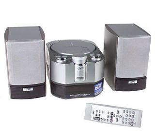 JVC 60 Watt AM/FM w/CD Compact Stereo System —