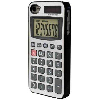 Black Frame Funny Novelty Calculator Design iphone 5 5S Case/Back cover Metal and Hard plastic case Cell Phones & Accessories