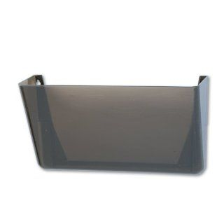 Quill Wall Mount Letter Sized File Folder Pocket Storage Holder : Office Desk Trays : Office Products