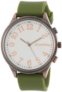 Dickies Unisex DW533CO OL Sharpshooter Rubber Watch: Watches