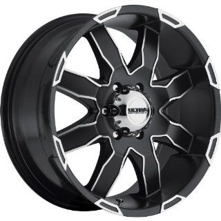 Ultra Phantom 17 Black Machined Wheel / Rim 5x5.5 with a 20mm Offset and a 87 Hub Bore. Partnumber 225 7885U+20 Automotive