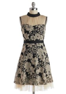 Ryu Botanical Banquet Dress  Mod Retro Vintage Dresses