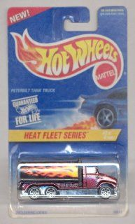 Hot Wheels 1996 539 Heat Fleet Series 3/4 Peterbilt Tank Truck 1:64 Scale: Toys & Games