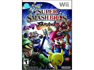 Super Smash Bros: Brawl Wii Game